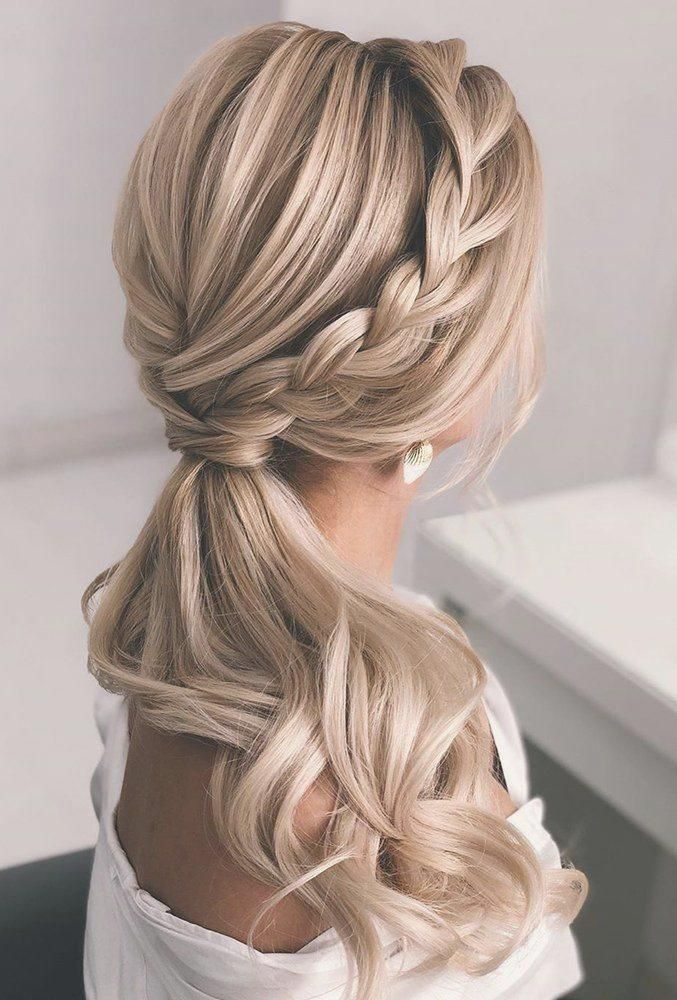 frizura niski rep za vjencanje