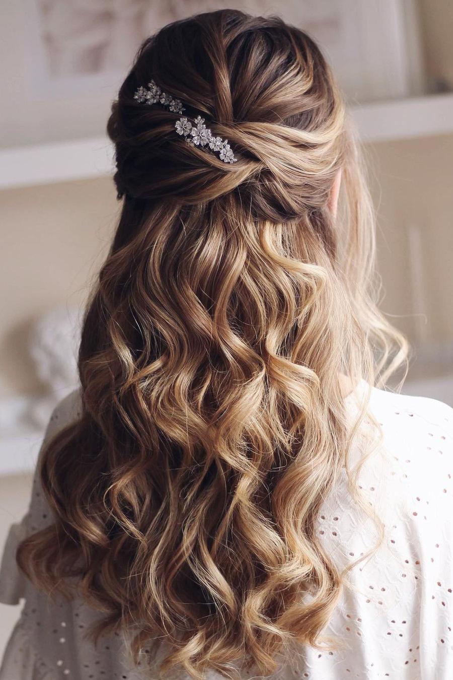 duga pustena kosa za vjencanje